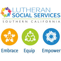Lutheran Social Services Logo - Embrace, Equip, Empower