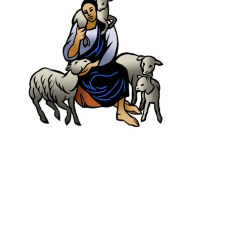 thumbnail of Jesus with Sheep