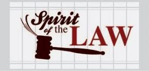 "Sunday, February 16, 2020  ""Practicing the Spirit of the Law"""