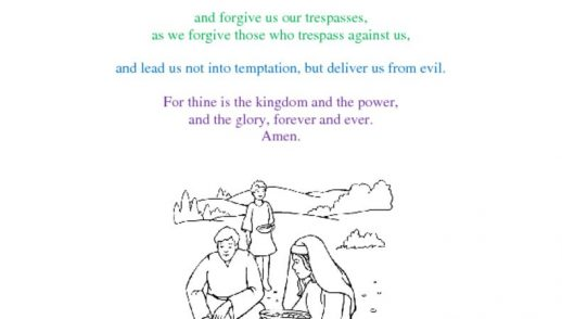thumbnail of The Lord Prayer for Faith Ex w art