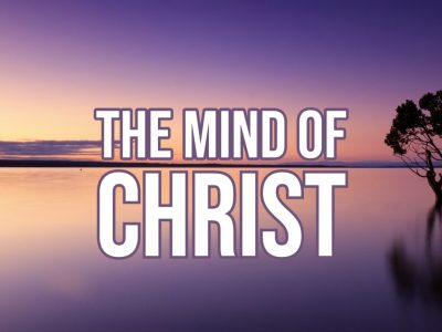 """Worship Service, October 11, 2020, """"Clothed with the Mind of Christ"""""""